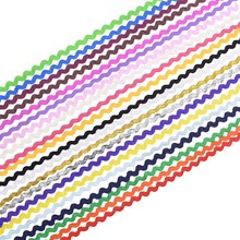 5/25m Gold Silver Sewing Lace Trim Ribbon Costume Curve Lace Fabric Centipede Braided Lace DIY Clothes Craft Wedding Decoration