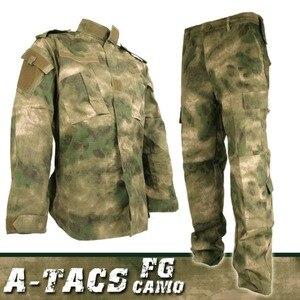 US Army wojskowe taktyczne mundur bojowy koszula spodnie Airsoft BDU zestaw kamuflażu mężczyźni odzież Paintball szkolenia polowanie ubrania