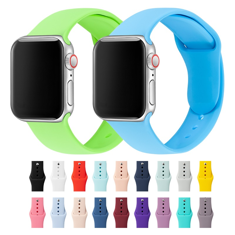 Band For Apple Watch Band 38mm 40mm 42mm 44mm Silicone IWatch Strap Replacement For Apple Watch Series 4,3,2 38mm 44mm 81009