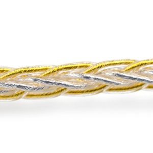 Image 3 - Câble mixte KZ 8 cœurs or argent avec connecteur 2pin/Mmcx utilisé pour KZ ZS10 PRO/ ZSN/ZST/ES4/ZS10/AS10/BA10/ZSN PRO