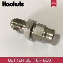 Haokule прямой конец шланга с наружной резьбой M10 * 3,5 an3, тормоз из ПТФЭ, тефлоновый фитинг для шланга
