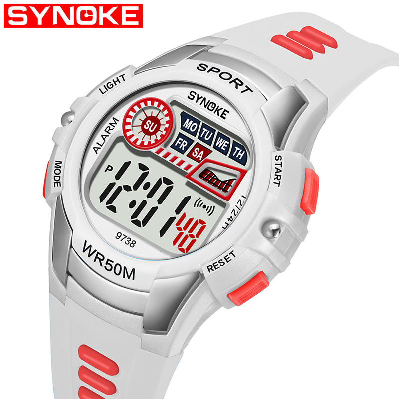 Swim Children's Watch Waterproof Multi Function Sports Kids Wrist Watches Student School Digital Clock Girl Boy Watch Child Hour
