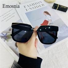 2021 Fashion Square Big Rahmen Sonnenbrille Frauen Männer Luxus Marke Designer Sonnenbrille Vintage Übergroßen Unisex UV400 Outdoor