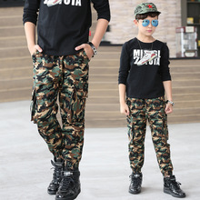 2019 New Boys Pants Childrens Leggings Army Kids Clothes Casual Trousers for Clothing Sport Fashion Camouflage