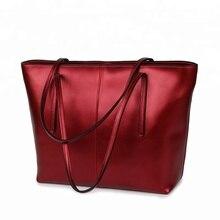 handbag  Fashion branded designer lady plit Leather custom large tote bag leather womans bags brand designers