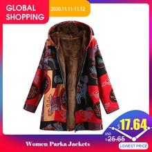 EaseHut chaquetas de invierno de talla grande para mujer, Parkas de felpa de manga larga para otoño 2020, Parkas de primavera fina de talla grande con capucha