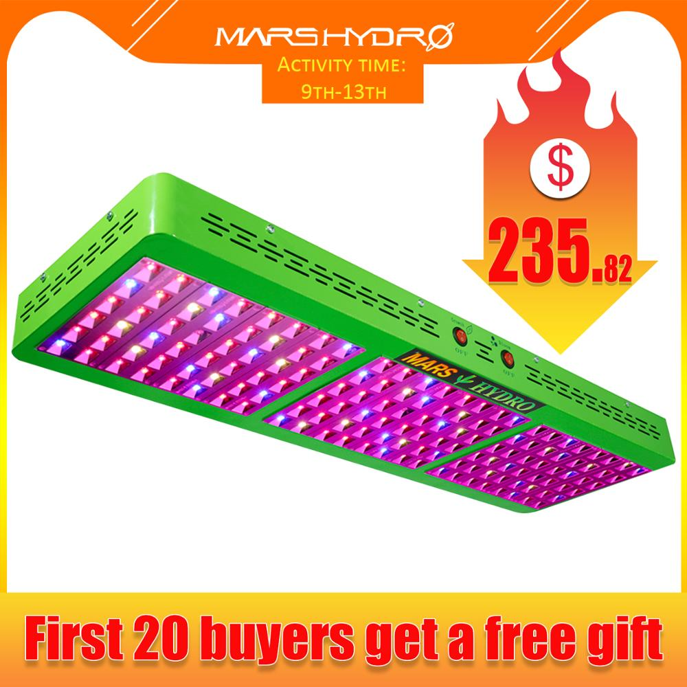 Mars Hydro Reflector 800W LED Grow Light Full Spectrum Switchable Growth / Bloom For Hydroponic Grow Tents