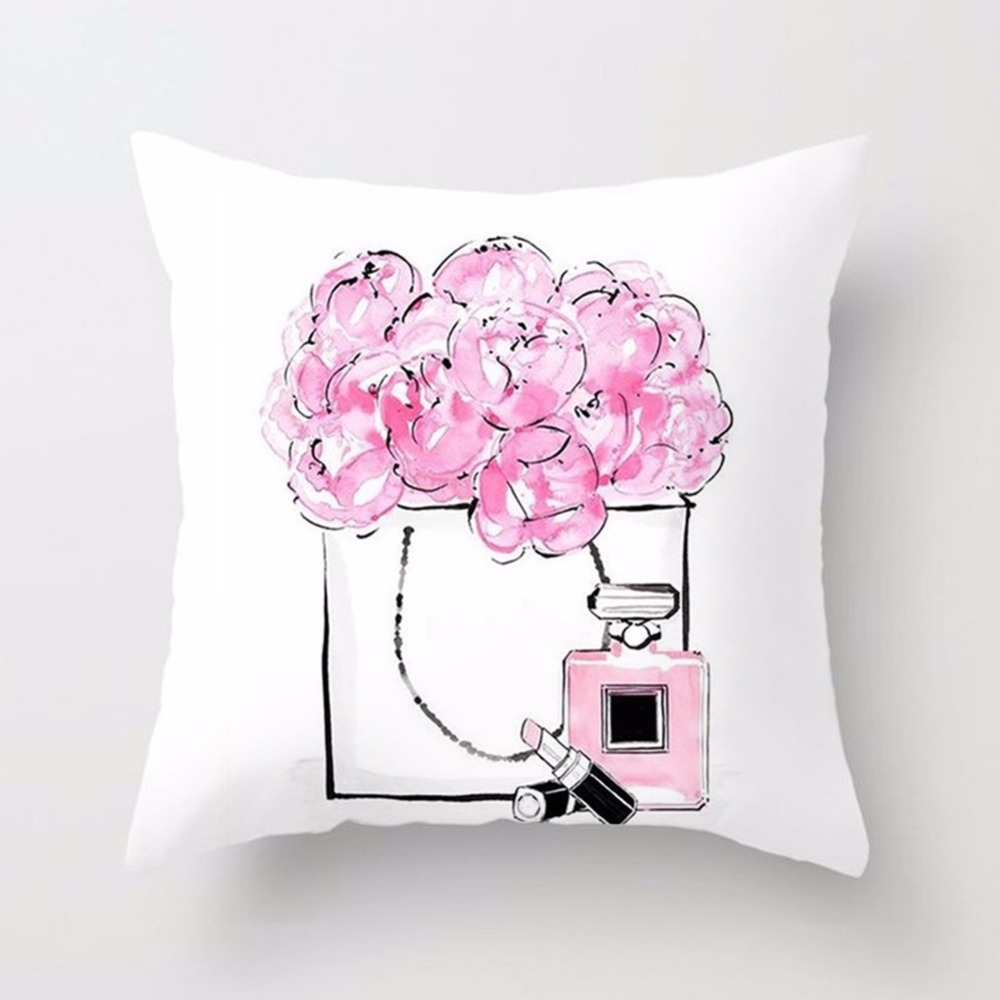 New-Printed-Flower-Pillow-Case-Cover-Square-45cm-45cm-Polyester-Pillowcase-Seat-Cushion-Case-Cover-Home(2)