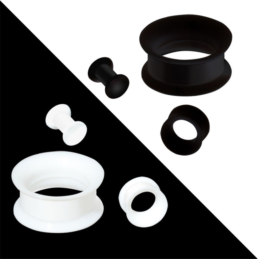 1pairs/lot Silicone Ear...