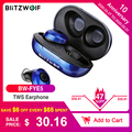 BlitzWolf BW FYE5 Bluetooth 5.0 TWS Wahre drahtlose Kopfhörer Kopfhörer im Taschenformat Sport Ohrhörer HiFi Bass Stereo Sound Kopfhörer Ohrhörer Passive Geräuschunterdrückung Lange Batterie Kopfhörer-in Handy-Ohrhörer und Kopfhörer aus Verbraucherelektronik bei