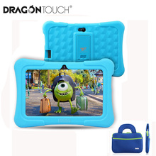 Upgraded Dragon Touch Y88X Plus Kids Tablet 7 inch 16GB Quad Core Android 8.1 with Bag Screen Protector PC