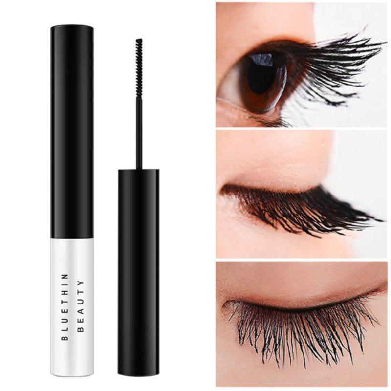 Máscara de maquillaje para ojos, 1 unidad, rizado duradero, suave, de secado rápido, superimpermeable, no florece, lápiz delineador, cosmético, maquillaje para ojos TSLM2
