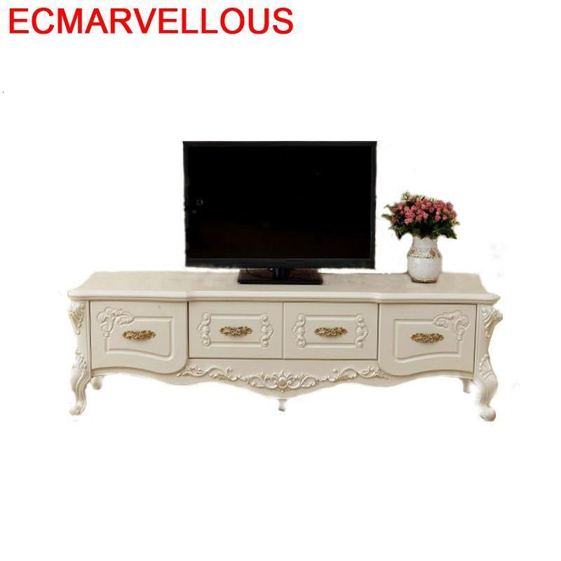 Standaard China Lcd Support Ecran Ordinateur Bureau Meja European Wodden Mueble Living Room Furniture Table Meuble Tv Cabinet