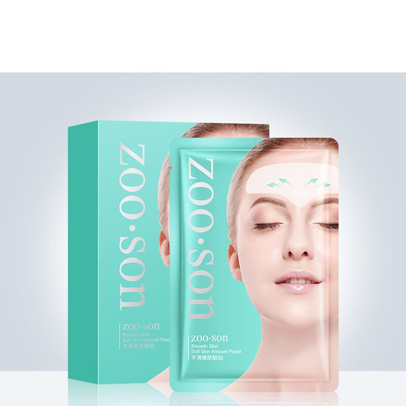 1pcs Smoothing And Moisturizing Forehead Mask Lifting Head Lines Masks To Reduce Forehead Lines Eyebrows Men And Women Mask