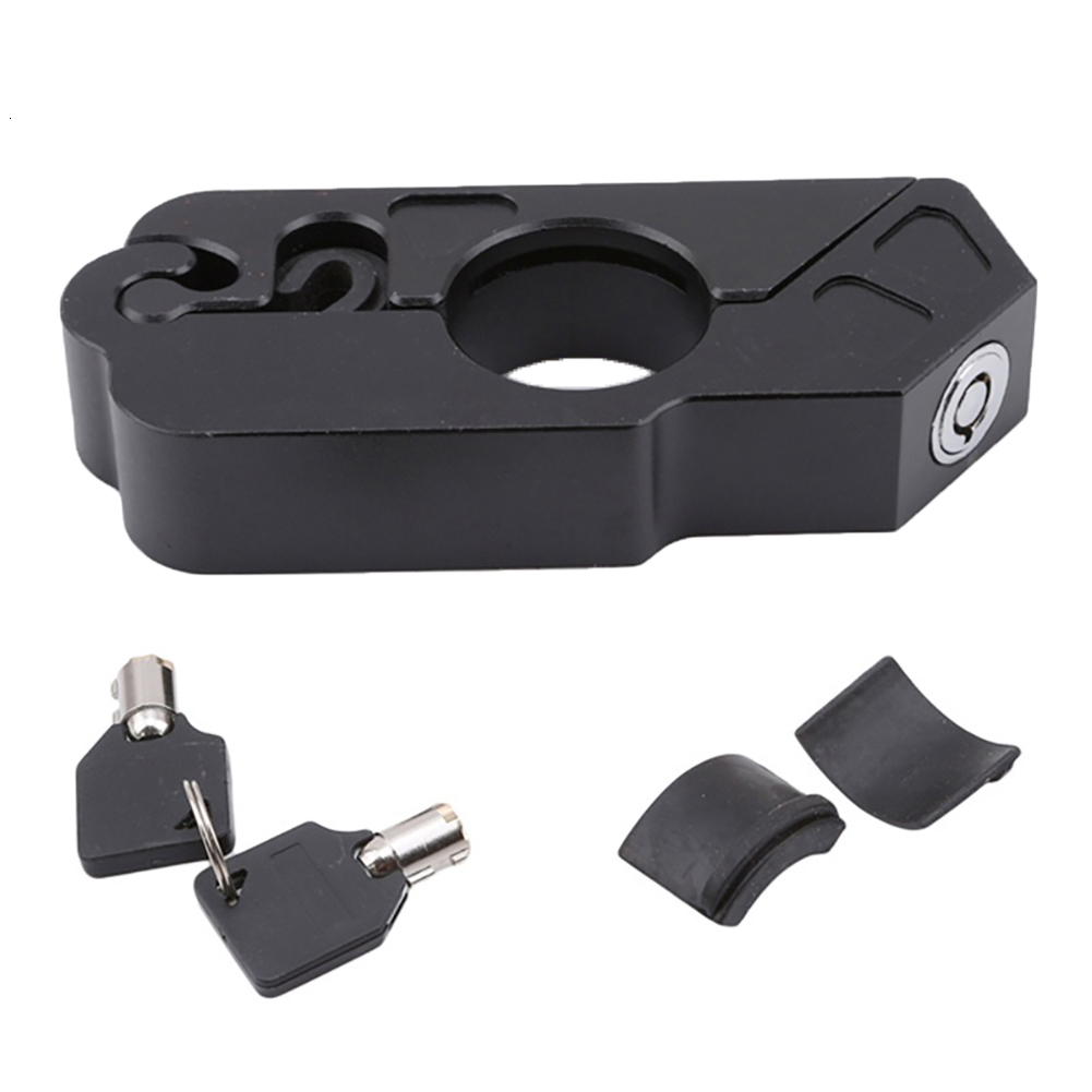 Motorcycle Motorbike Scooter Accessories ATV Brake Clutch Handlebar Security Anti-Theft Lock