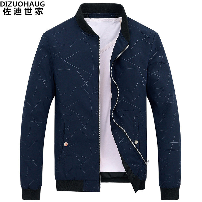 MEN'S Coat Spring And Autumn 2019 New Style Korean-style Trend Slim Fit Handsome Casual Thin Winter Men'S Wear Plus Velvet Thick