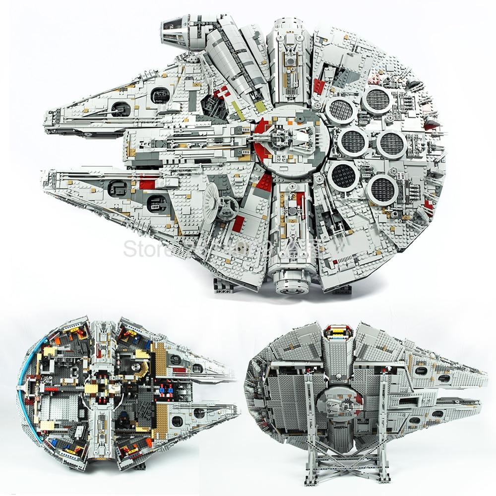 In Stock 05132 Star Wars Series Ultimate Collector's Model Destroyer Building Blocks Bricks Kids Toys Christmas Gift 75192
