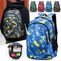 Outdoor Sports Bag Large School Bags for Boys Girls Children Camouflage School Student Book Bag Kid Schoolbag Travel Backpack