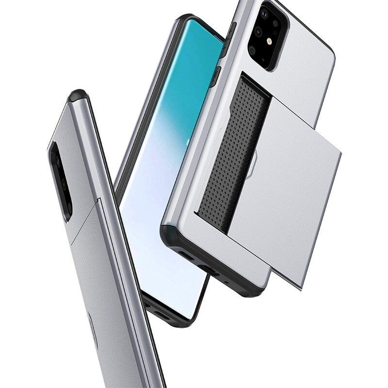 Samsung Galaxy S20 Ultra Custodia Cellulare Protettiva Cover Card-Slot Wallet