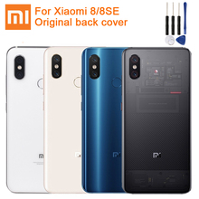 Xiaomi Mi Original Glass Battery Rear Case for Xiaomi 8 MI8 MI 8 PRO M8 8SE Mi8 Pro Phone Battery Back Cover Backshell +Tool