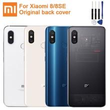 Xiaomi Mi Originele Glas Batterij Case Achter Voor Xiaomi 8 MI8 Mi 8 Pro M8 8SE Mi8 Pro Telefoon Batterij back Cover Backshell + Tool