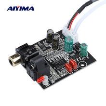 AIYIMA DAC 디지털 디코더 CS8416 + CS4344 광섬유 동축 디지털 신호 입력 스테레오 오디오 출력 Decod For Amplifier DIY