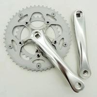 Prowheel 8 speed 50/34T 170 mm road bike crankset aluminum alloy Bike Accessories Square hole Crank Set