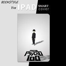 Bookstyle Japan Anime モブサイコ100 Smart Flip Cover leather case For iPad Air3 Air2 Pro 9.7 10.5 11 12.9 2019 Mini 2 3 4 5 Tablet Case For ipad 9.7 2017 2018 A1893(China)