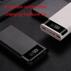 Image 4 - Dual USB QC3.0 6x18650 Batteries 5V 9V 12V DIY Power Bank Box Holder Case Quick Charger