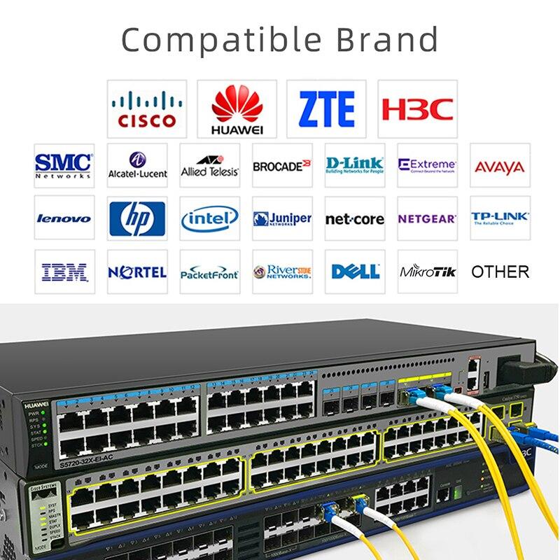 1гб миниое gbic дуплекса одиночного режима LC модуля SFP совместимый SFP Cisco и/еще бы переключатель КЗС-ЛГ-см модуль оптического волокна 20/40/80/120км
