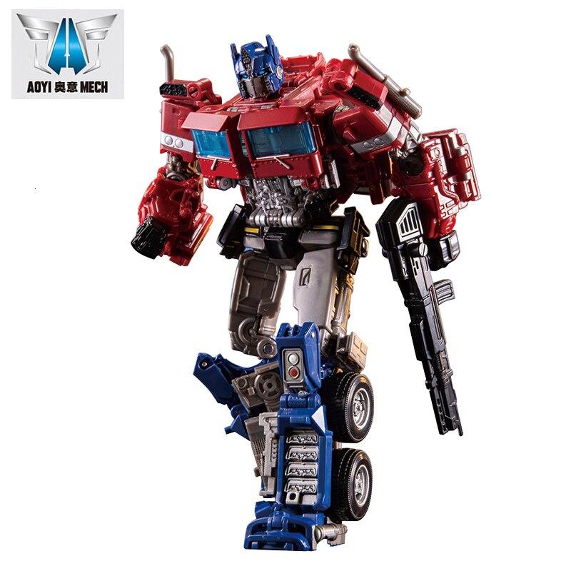 AOYI H6001-4 H60014 BMB Transformatie OP Commander Action Movie Cijfers Model Vervorming Auto Robot KO SS38 MPP10 Hound Speelgoed