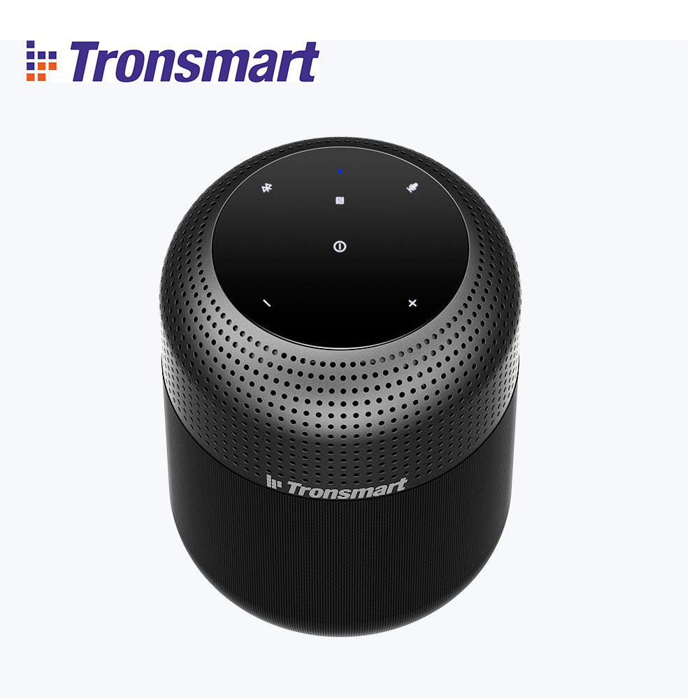 【Wireless with NFC】Tronsmart Element T6 Max 60W waterproof TWS Bluetooth Speaker 360 Stereo Sound Deep Bass Home Theater Column