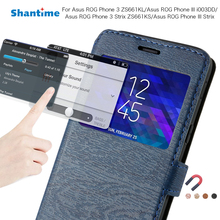 Phone Case For Asus ROG Phone 3 ZS661KL 3 Strix ZS661KS Case For Asus ROG Phone III i003DD III Strix View Window Case Back Cover