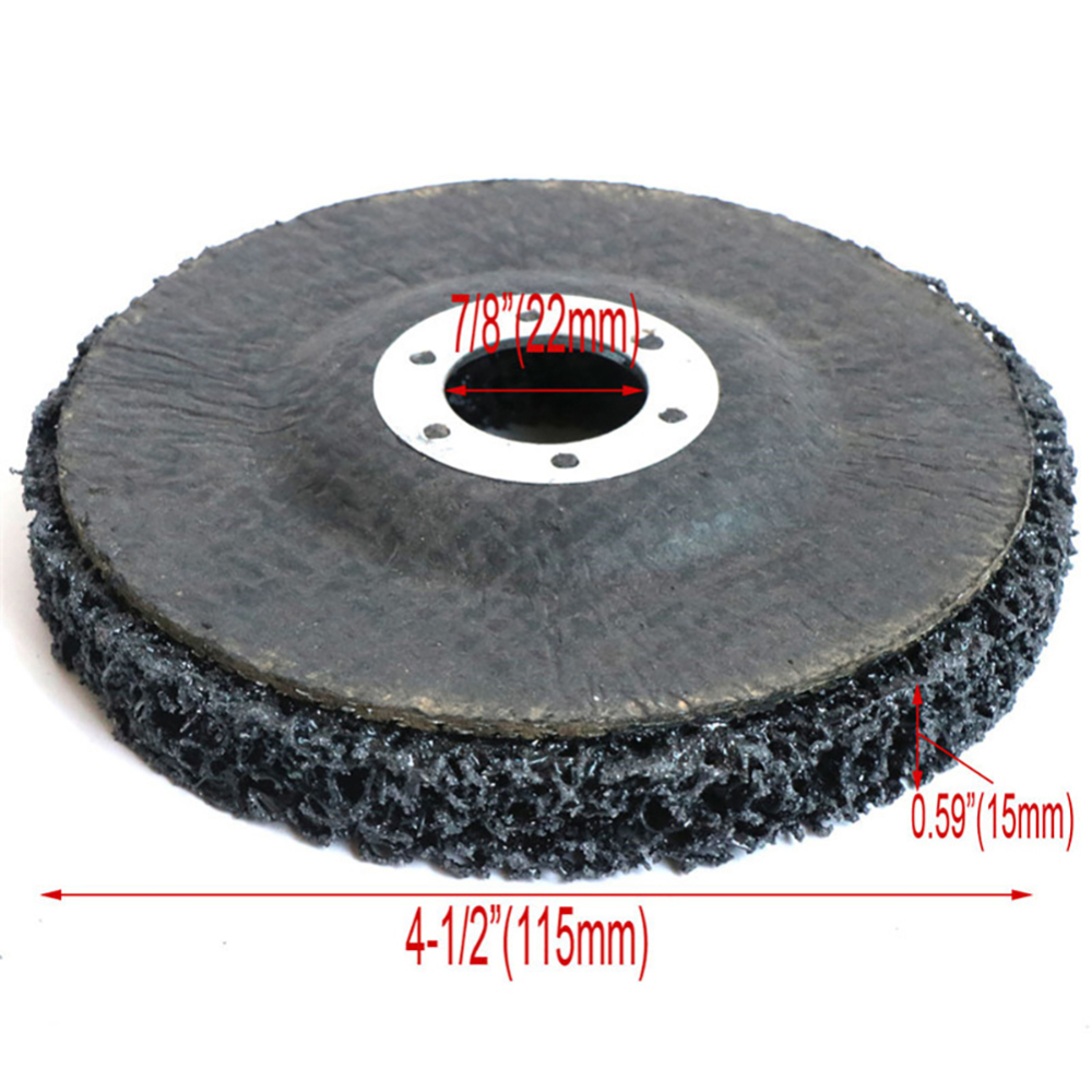 3pcs 125mm Grinding Disc 5 Inch Abrasive Wheel Paint Rust Removal Clean Mayitr For Angle Grinder Hard-wearing Abrasive Discs