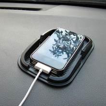 Anti-skid PU Matte Anti Slip Auto-armaturenbrett Nicht Telefon Matte GPS Cell Car Grip Pad Sticky Halter Slip zubehör