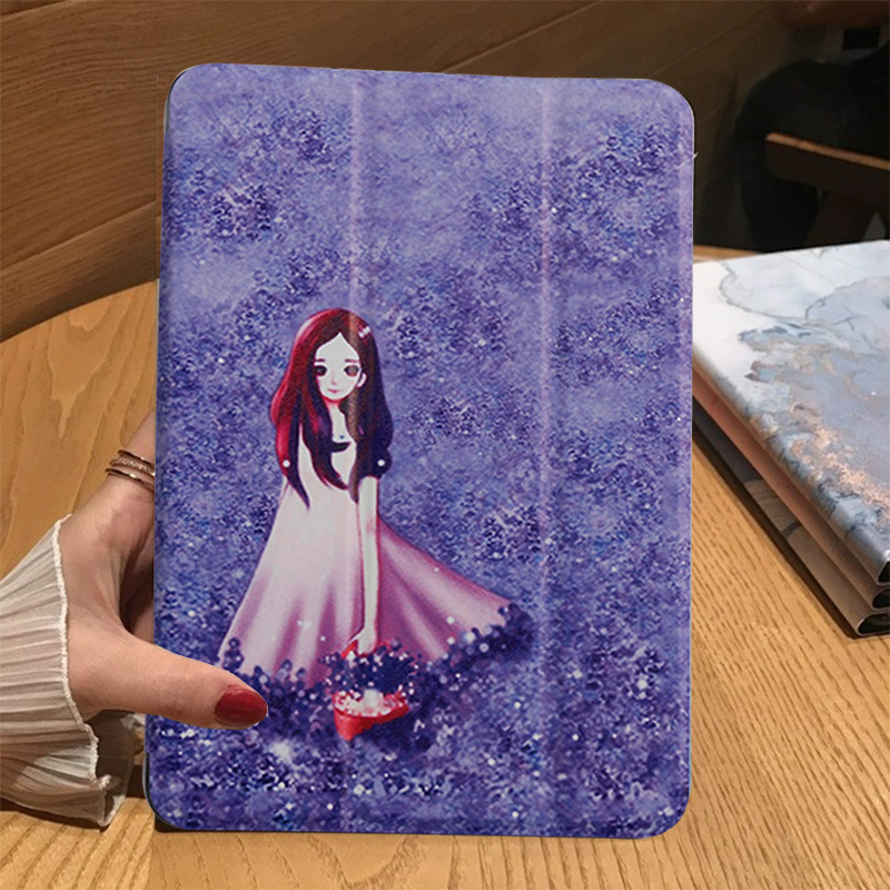 lavender Blue Tablet Case For Apple iPad 10 2 2019 iPad 7 7th Generation A2200 A2198 A2232 A2197