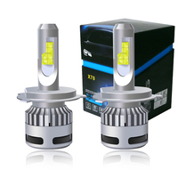 2PCS Car Lights 100W 12000LM H4 LED Bulbs XHP70 H7 LED Canbus Error Free 9005 HB3 Lamp 9006 HB4 9012 H8 H9 H11 LED Headlight Kit