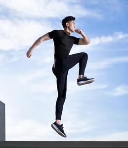 Image 5 - Мужская Спортивная Футболка Xiaomi ZENPH с мониторингом в реальном времени, высокая эластичность, быстросохнущая летняя спортивная футболка для бега с коротким рукавом