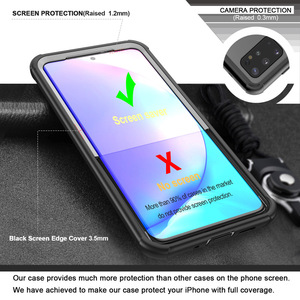 Image 4 - Full Body Case for Samsung Galaxy S20 Plus Ultra Shockproof Drop Resistant 360 Protect Case Cover w/ Built in Screen Protector