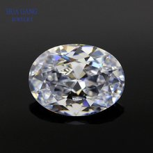 Moissanite 1 Carat D Color Loose Moissanite Stone Oval Excellent Cut 5x7mm VVS1 For Engagement Ring Bead For Jewelry Making