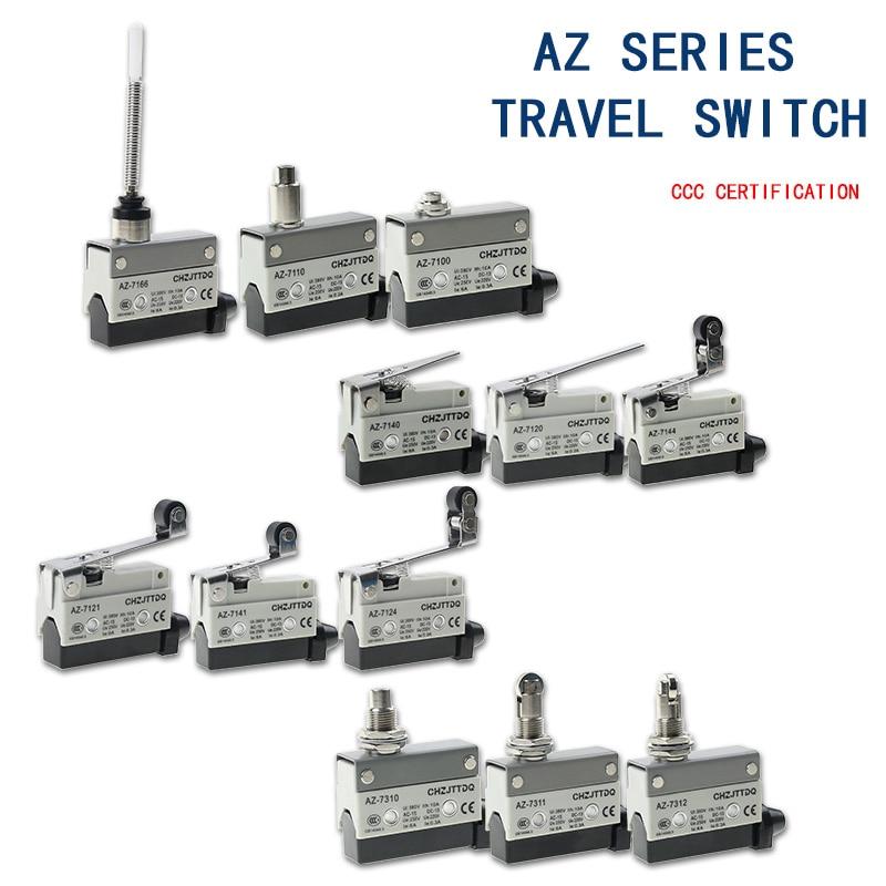 CHZJTTDQ Microswitch AZ -7141.AZ-7110.AZ-7121.AZ-7311.AZ-7100.AZ-7166.AZ-7124small Horizontal Stroke Switch Limit Switch Reset