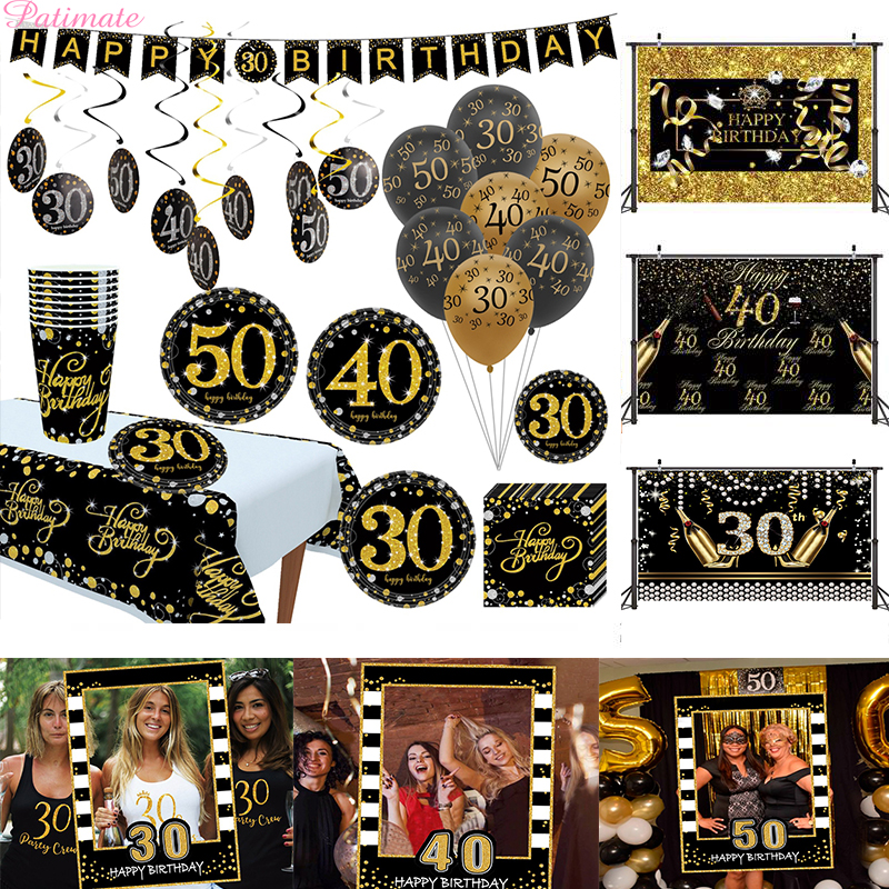 30 40 <font><b>50th</b></font> <font><b>Birthday</b></font> <font><b>Party</b></font> Decorations Adult Happy <font><b>Birthday</b></font> Balloons 30 Years Wedding Anniversary <font><b>Birthday</b></font> Decor <font><b>Party</b></font> Supplies image