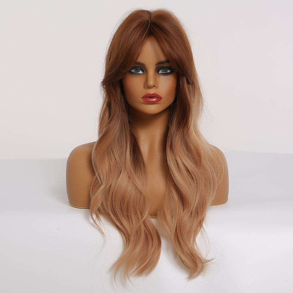 corpo perucas de cabelo natural resistente ao calor cosplay perucas