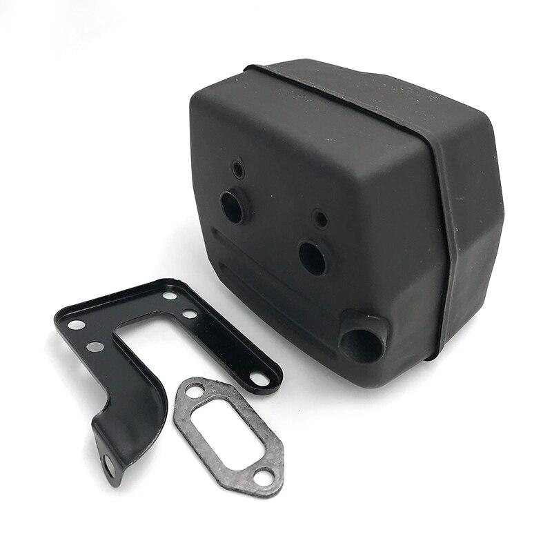 HUNDURE Muffler Exhuast Silent Block Bracket Gasket Kit For HUSQVARNA 268 272 272XP 272K 61 Chainsaw Parts 503535901