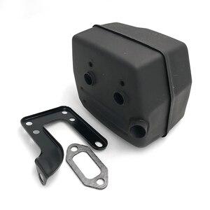 Image 1 - HUNDURE Muffler Exhuast Silent Block Bracket Gasket Kit For HUSQVARNA 268 272 272XP 272K 61 Chainsaw Parts 503535901