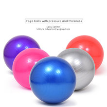 55cm 65cm 75cm Sport Yoga Ballen Bola Pilates Fitness Gym Balans Fitball Oefening Pilates Workout Massage Bal(China)