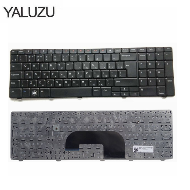RU Black New  Laptop Keyboard For DELL For Inspiron 17R N7010
