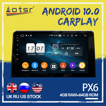 AOTSR Car gps navi For Peugeot partner 2020 Android 10.0 System Car GPS Navigation Touchscreen Octa core Car Radio play image