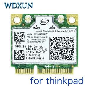 Intel 6205AN Centrino Advanced-N 6205 62205ANHMW FRU 60Y3253 300M 5G WiFi Wireless Network Card for Thinkpad x220 x230 L420 L520