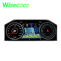 wisecoco 1920x720 12.3 inch Instrument display dashboard lcd screen Original new high brightness 780nits sunlight readable panel